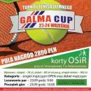GALMA-CUP JUŻ W TEN WEEKEND 23.09.2017